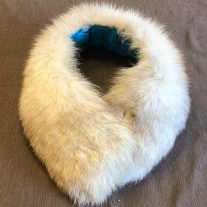 Vintage Estate Real Fox Fur Collar